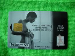 7123 Télécarte Collection  3615 Cancer Du Sein  ESTEE LAUDER . MARIE CLAIRE     50u  ( Recto Verso)  Carte Téléphonique - Altri