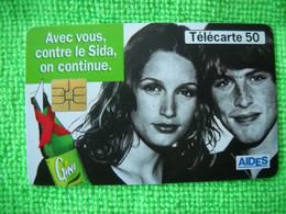 7124 Télécarte Collection  GINI SIDA   AIDES      50u  ( Recto Verso)  Carte Téléphonique - Alimentazioni