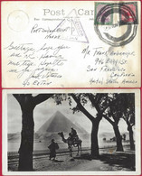 Sudan WW2 Ship Mail Paquebot Port Sudan Postcard To USA 1940s Censor. SS Exton - Soedan (...-1951)