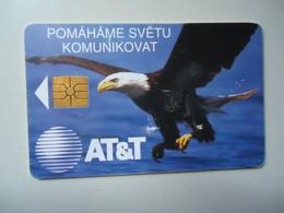 CZECH REPUBLIC USED PHONECARDS  BIRDS EAGLES - Aquile & Rapaci Diurni