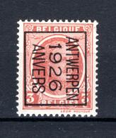 PRE138B MNH** 1926 - ANTWERPEN 1926 ANVERS - Typo Precancels 1922-31 (Houyoux)