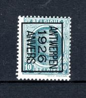 PRE146B MNH** 1926 - ANTWERPEN 1926 ANVERS - Typo Precancels 1922-31 (Houyoux)