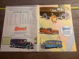 1931 EXAM Feuillet Publicitaire Camion à Moteur Stewart Motor Corporation - Sin Clasificación