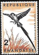 Rwanda - MNH **  1967 :   Pin-tailed Whydah  -  Vidua Macroura - Sperlingsvögel & Singvögel