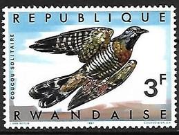 Rwanda - MNH **  1967 :   Red-chested Cuckoo  -  Cuculus Solitarius - Kuckucke & Turakos