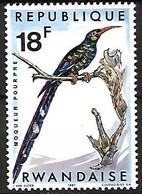 Rwanda - MNH **  1967 :   Green Wood Hoopoe  -  Phoeniculus Purpureus - Sonstige