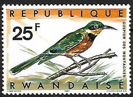 Rwanda - MNH **  1967 :   Cinnamon-chested Bee-eater  -  Merops Oreobates - Sonstige