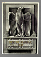 Propagandakarte 30.1.1939/Ostmark Sudetengau, Gründung III. Reich - Non Classificati