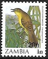 Zambia - MNH ** 1987 :    Papyrus Yellow Warbler  -  Calamonastides Gracilirostris - Sperlingsvögel & Singvögel