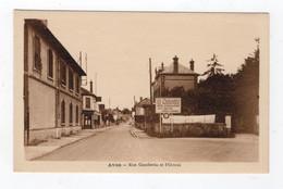 77 SEINE ET MARNE - AVON Rue Gambetta Et L'Octroi - Avon