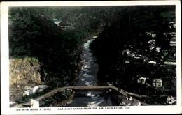 CPA Launceston Tasmanien Australien, Cataract Gorge From The Air - Other