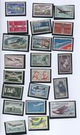 Lot De 22 Timbres Neufs Concernant L'histoire Des Avions, Des Pilotes Et De L'aviation - Mermoz, Pilatre De Rozier - Flugzeuge