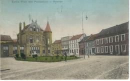 HEERLEN : Emma Plein Met Postkantoor - RARE CPA - Cachet De La Poste 1907 - Heerlen