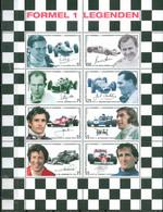 Austria 2006 - Formel-1-Rennfahrer, Mi-Nr. 2592/99 In KLBG, MNH** - 2001-10 Nuevos & Fijasellos