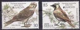 SERBIA 2021,NEW 12.05,EUROPA CEPT,ENDANGERED NATIONAL WILDLIFE,FAUNA,BIRDS,FALCO, MNH - Serbia