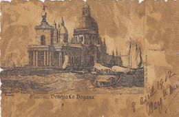 VENEZIA-LA DOGANA-CARTOLINA VIAGGIATA IL 8-4-1902- - Venezia