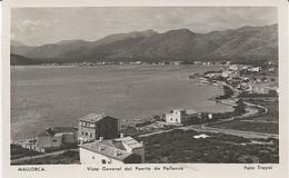 X116854 ISLAS BALEARES MALLORCA VISTA GENERAL DEL PUERTO DE POLLENSA - Mallorca