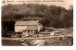 Florenville  - Sur La Frontière - Scierie Lucien Lahaye-Gustin - Rendez-Vous Des Sangliers Des Ardennes - Circulée - 2Sc - Florenville