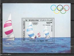 BF - 1984 - 43 **MNH - Jeux Olympiques De Los Angeles - 2 - Mauritania (1960-...)