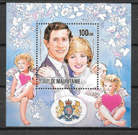 BF - 1984 - 42 **MNH - Mariage Diana - 2 - Mauritania (1960-...)