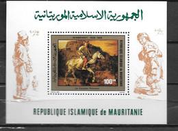 BF - 1980 - 28 **MNH - Rembrandt - 2 - Mauritania (1960-...)