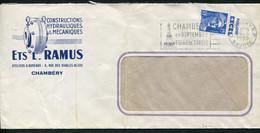 "21816 FRANCE N°886°(238) Sur Lettre 15F Marianne De Gandon : Margarine ""Excel""  Du 29.6.1955  B/TB - Reclame"
