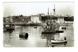 56 MORBIHAN BELLE IILE DE GROIX Port Tudy Avant Port  Plan Peu Courant - Andere Gemeenten