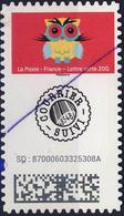 XXXX CHOUETTE SUIVI   ADH   OBLITERE ANNEE 2020 (griffe Du Facteur ) - Adhesive Stamps