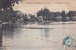 ENGHIEN LES BAINS ,REGATES SUR LE LAC REF 71432 - Rowing
