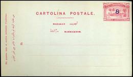 Maroc - Carte Postale - Sellos Locales