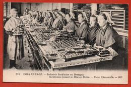 DOUARNEZ. Industrie Sardinière En Bretagne. - Douarnenez