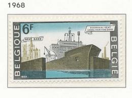 NB - [150623]SUP//**/Mnh-N° 1479, Canal Maritime De Gand, Nouvelle écluse, Bateau, SNC - Unused Stamps