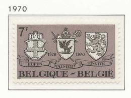NB - [150848]SUP//**/Mnh-N° 1566, 50 Ans Du Rattachement Des Cantons Rédimés (Eupen, Malmédy Et Saint-Vith) à La Belgiqu - Neufs