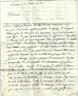 1802 De Colmar Par Berger à Levrault Imprimerie  Librairie Paris LETTRE  PUBLICATION OUVRAGE ART SCULPTURE  ARCHITECTURE - 1800 – 1899