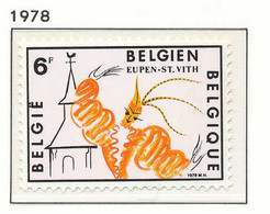NB - [151742]SUP//**/Mnh-N° 1910, Tourisme, Prince Carnaval à Eupen - Saint Vith, SNC - Neufs
