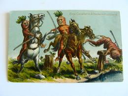 Eine  Cavallerie Attacke Im Rubliland   Anthropomorphic  ANTROPOMORFICO   VEGETABLE PEOPLE  EDITION ZURICH - 1900-1949