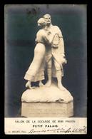 GUERRE 14/18 - SCULPTURE DE C.H. POURQUET - SALON DE LA COCARDE DE MIMI PINSON - Oorlog 1914-18