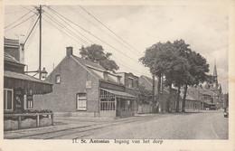 St Antonius , Sint Antonius ,( Zoersel ), Ingang Van Het Dorp (  ,n° 11  ) Rail Du Tram + PUB De Beukelaar - Zoersel