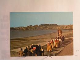Saint Pair Sur Mer - La Procession Annuelle Avec Le Gisant De Saint Gaud - Saint Pair Sur Mer