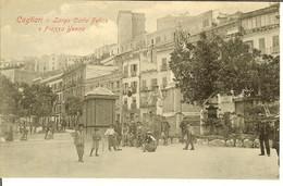 """CP De CAGLIARI """" Largo Carlo Felice E Piazza Yenne """" - Cagliari"""