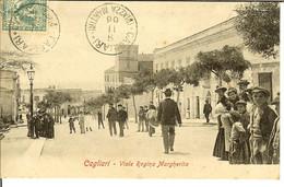 """CP De CAGLIARI """" Viale Regina Margherita """" - Cagliari"""