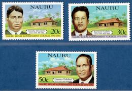 Nauru 1981 Self Administration 3 Values MNH 2105.2737 - Nauru