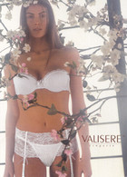 Carte Publicitaire Lingerie Féminine - Valisere- Hime WDU+ String + S - Femme - Charme - 12/2005 - Pin-Ups