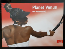 Planet Venus Tennis Player Carte Postale - Tennis