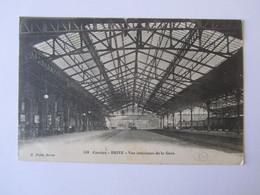 BRIVE, Corrèze, Vue Intérieure De La Gare - Brive La Gaillarde