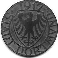 *notgeld  Dortmund 5 Pfennig 1917 Zn  103.1a - Other