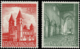Luxembourg, Luxemburg 1953 Basilique St. Willibrord Série Neuf MNH** Val.cat.12€ - 1940-1944 German Occupation
