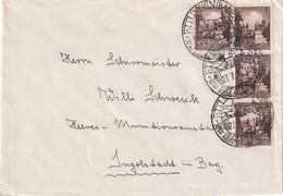ALLEMAGNE 1938 LETTRE DE ETTLINGEN - Covers & Documents