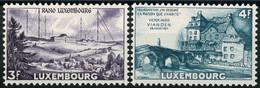 Luxembourg, Luxemburg 1953 Radio RTL, Victor Hugo Série Neuf MNH** Val.cat.15,00€ - Unused Stamps