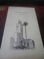MENU FRANCE MAROC OFFERT AU GENERAL LYAUTEY  AU PALAIS D'ORSAY -1920 - Menus